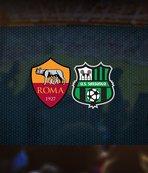 Sassuolo Roma maçı saat kaçta ve hangi kanalda?