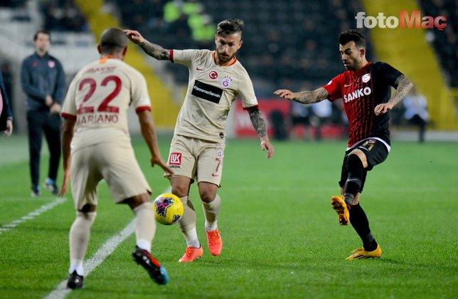 Galatasaray'da Lemina'dan Felipe Melo gülüşü! İşte o anlar...