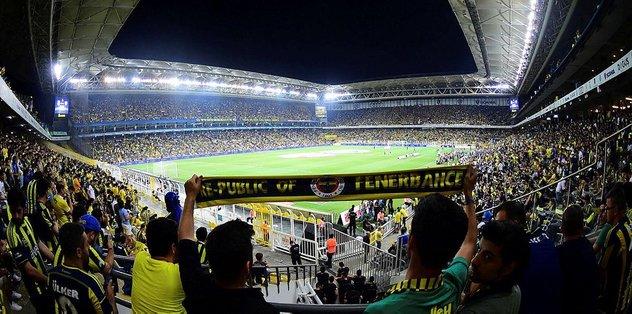 Fenerbahçe'de 12. adam coşkusu