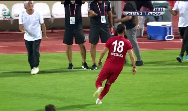 gol 24 erzincanspor 4 1 artvin hopaspor 1595358816233 - 3. Lig'de ilk finalistler belli oldu!