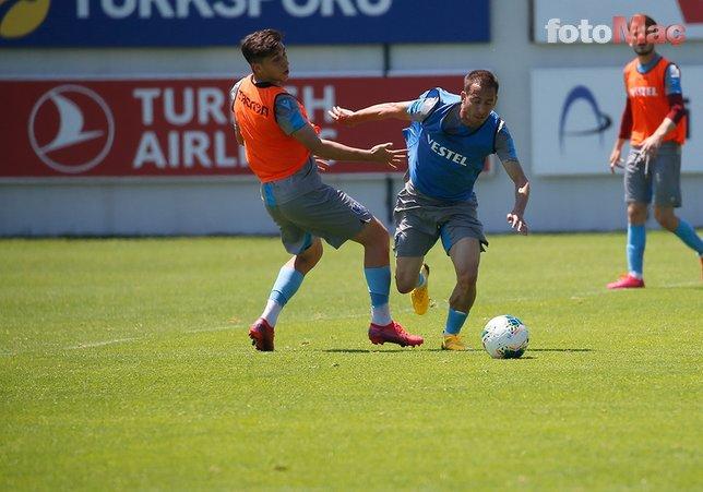 Trabzonspor'da hedef şampiyonluk! İşte bugünkü idmandan kareler