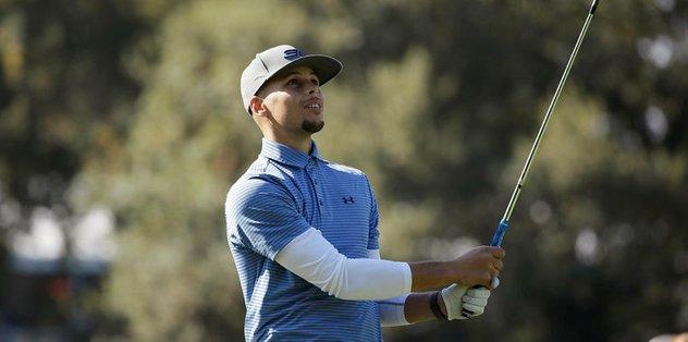 Curry, golf turnuvasına katılacak