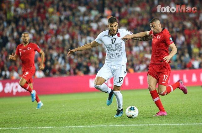 İşte Türkiye-Arnavutluk maç sonu açıklamaları