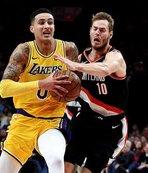 Lakers 16 maç sonra Trail Blazers'ı yendi