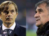 Fenerbahçe - Beşiktaş derbisi öncesi Phillip Cocu ve Şenol Güneş'ten akıl oyunları