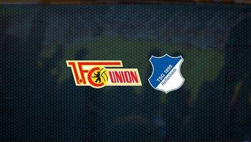 Union Berlin - Hoffenheim maçı saat kaçta ve hangi kanalda?