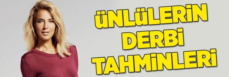 Ünlülerden Fenerbahçe - Galatasaray derbi tahminleri