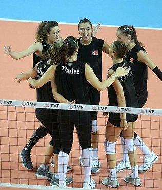 A Milli Kadın Takımı, Kanada'yı 3-0 yendi