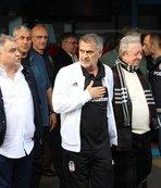 Beşiktaş Çaykur Rizespor maçı için Trabzon'a geldi
