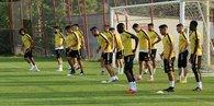 Evkur Yeni Malatyaspor sezon başından beri ilk kez tam kadro çalıştı