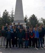 Kayseri Erciyesspor'dan şehitlik ziyareti