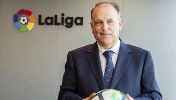 """LaLiga Başkanı'ndan eleştiri! """"Futbolda sorun etik"""""""