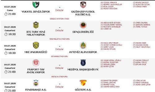 son dakika galatasaray trabzonspor macinin hakemi belli oldu 1593511536812 - Son dakika: Galatasaray-Trabzonspor maçının hakemi belli oldu!