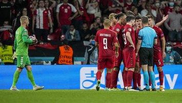 EURO 2020 yarı finalinde tartışmalı penaltı kararı!