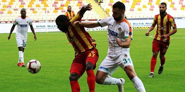 Yeni Malatyaspor Alanyaspor'u deviremedi! | MAÇ SONUCU | ÖZET| GOLLER