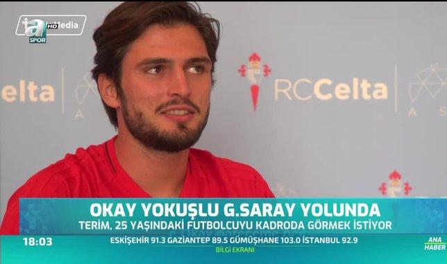 Okay Yokuşlu Galatasaray yolunda