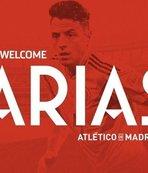 Atletico Madrid, Arias'ı transfer etti! Vrsaljko'yu Inter'e kiraladı