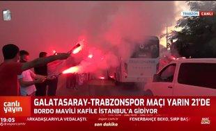 Trabzonspor coşkuyla uğurlandı! | İZLEYİN