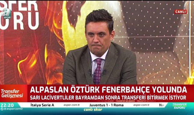Alpaslan Öztürk Fenerbahçe yolunda