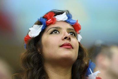 Dünya Kupasını izleyen taraftarlar göz kamaştırdı