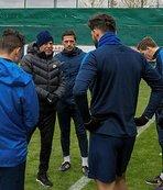Kasımpaşa'da milli futbolculara özel antrenman