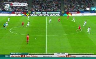 İşte Rusya - Türkiye maçının özeti