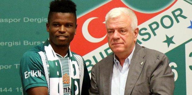 Bursaspor, Agu ile sözleşme imzaladı
