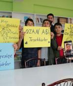 Ozan Tufan Diyarbakırlı öğrencileri sevindirdi