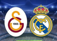 İşte Galatasaray-Real Madrid maçı 11'leri!