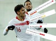 İspanyollar 'hayali maçta' Enes Ünal'a gol attırdı! 'Vamos Enes'