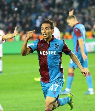 Trabzonspor'un yıldızı Pereira en iyi 11'ini açıkladı!