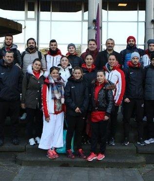 Milli karatecilerin olimpiyat mücadelesi Paris'te devam edecek