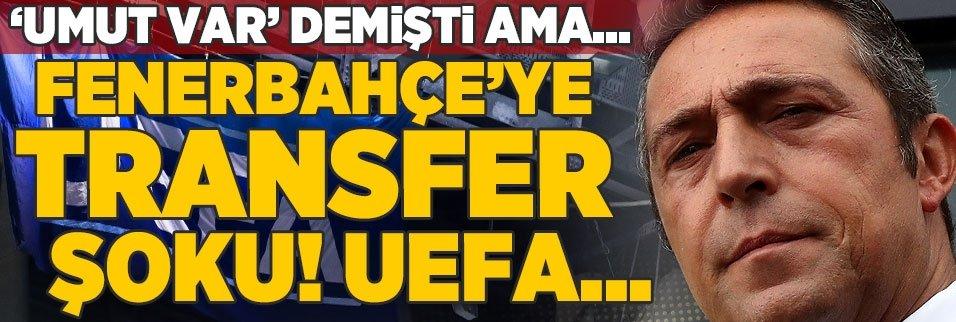 F.Bahçe'ye transfer şoku! İşte o açıklama ve UEFA...