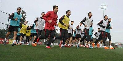 A Milli Takım, İrlanda Cumhuriyeti maçının hazırlıklarını sürdürdü