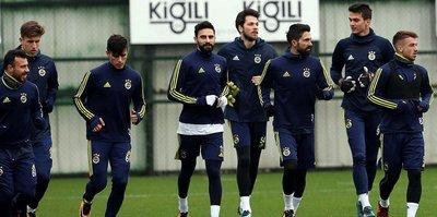 F.Bahçe'de Trabzonspor mesaisi başladı