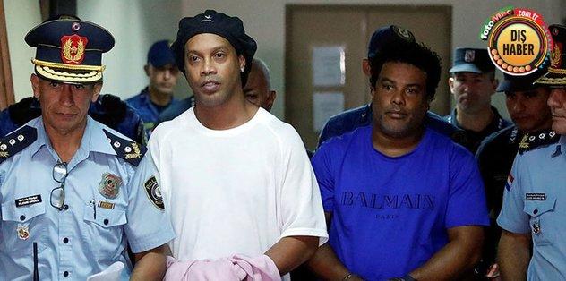 Ronaldinho'ya hapiste telefon hakkı tanındı! İlk onu aradı - İspanya La Liga -