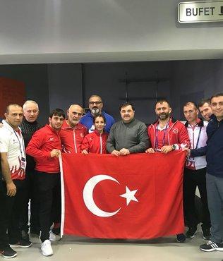 Evin Demirhan dünya şampiyonu