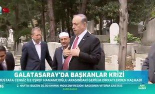 Ali Sami Yen'in kabir başında büyük gerginlik!