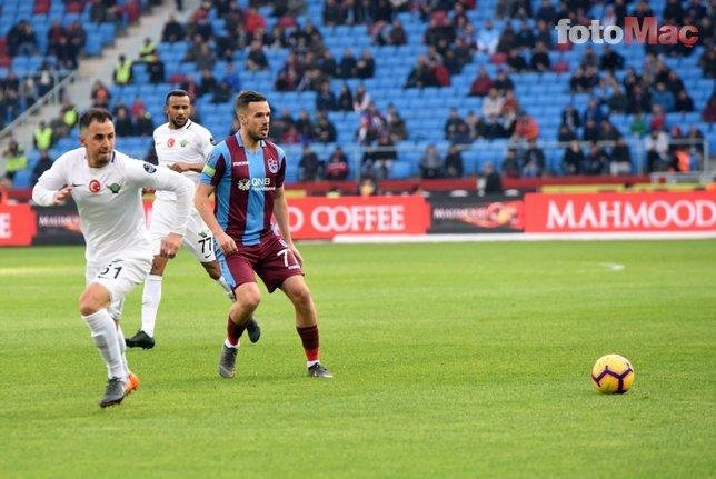 Trabzonspor-Akhisarspor maçından kareler (09.03.2019)