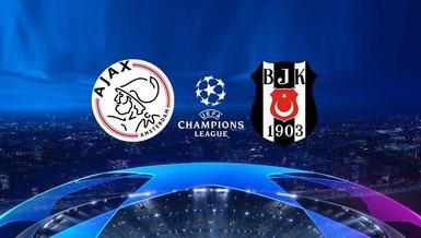 Ajax Beşiktaş maçı CANLI   Beşiktaş Şampiyonlar Ligi maçı izle   Ajax Bjk canlı skor