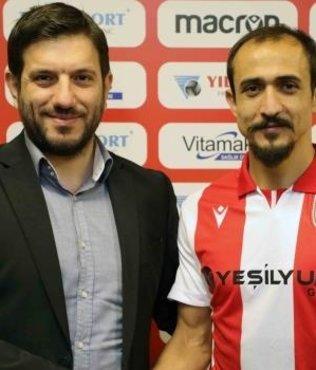 Yılport Samsunspor Burak Çalık'ı transfer etti