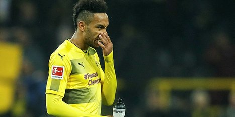 Borussia Dortmund'da Aubameyang kadro dışı