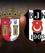 Ve sahne Beşiktaş'ın! İşte Kartal'ın Braga 11'i