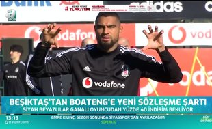 Beşiktaş'tan Boateng'e şartlı sözleşme!