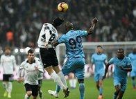 Beşiktaş - Trabzonspor maçından kareler