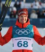 Altın madalya İsviçreli Dario Cologna'nın