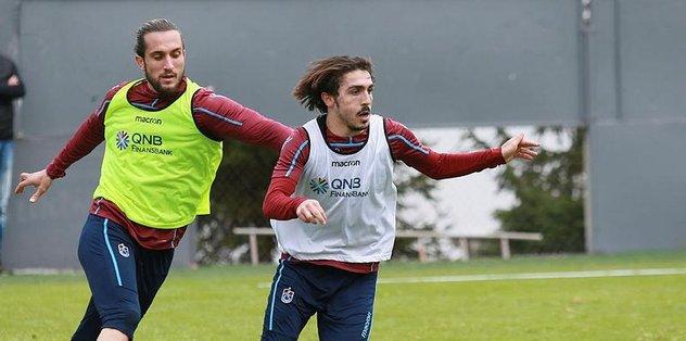 Trabzonspor Fenerbahçe maçı hazırlıklarına başladı
