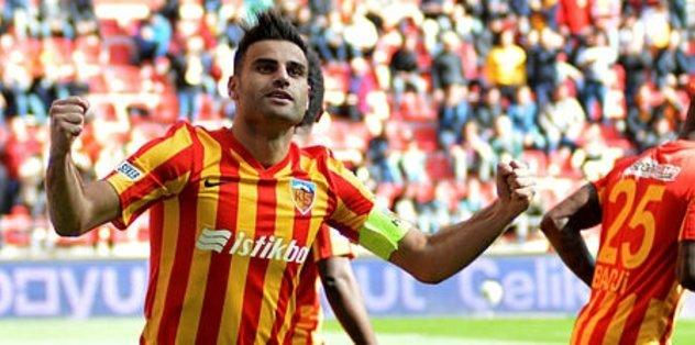 Gol düellosunun galibi Kayseri