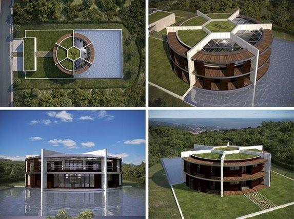 Messi'nin yeni evi büyüledi