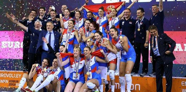 Sırbistan, Avrupa Şampiyonu oldu!